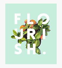 Flourish #redbubble #home #designer #tech #lifestyle #fashion #style Photographic Print