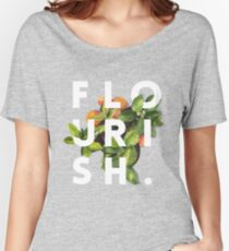 Flourish #redbubble #home #designer #tech #lifestyle #fashion #style Women's Relaxed Fit T-Shirt