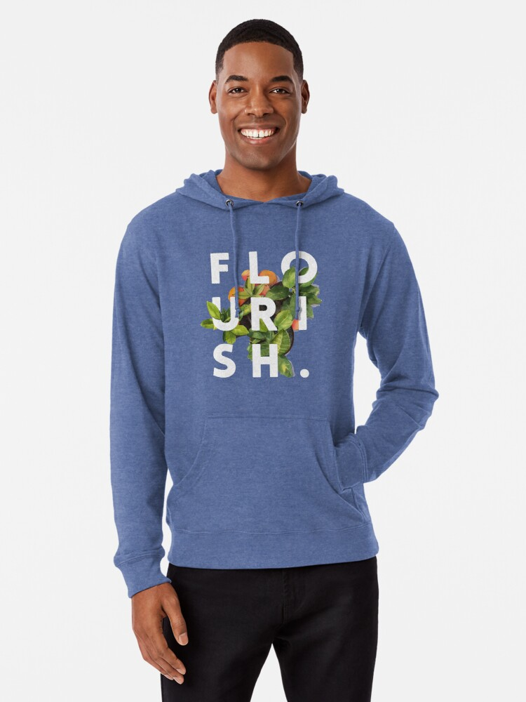'Flourish #redbubble #home #designer #tech #lifestyle #fashion #style' Lightweight Hoodie by 83oranges