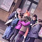 """the fox lady in the station (embrace) by Antonello Incagnone """"incant"""""""