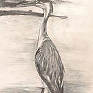 Heron by Sam Burchell