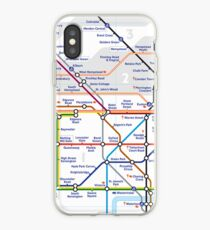 Tube Map iPhone Case