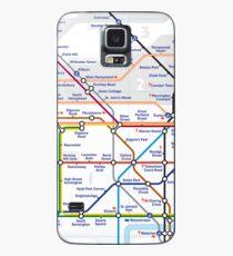 Tube Map Case/Skin for Samsung Galaxy