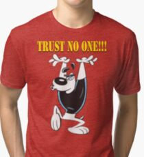 TUFF Puppy - Trust No One Tri-blend T-Shirt