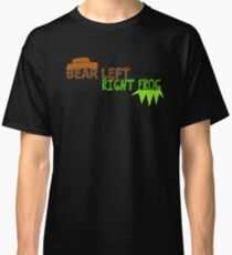 Bear Left Right Frog Classic T-Shirt