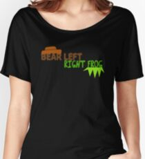 Bear Left Right Frog Women's Relaxed Fit T-Shirt