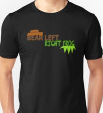 Bear Left Right Frog Unisex T-Shirt