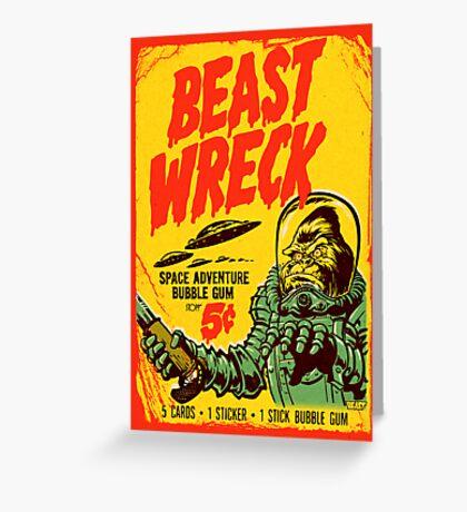 BEASTWRECK ATTACKS Greeting Card