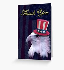 Thank You Eagle Greeting Card