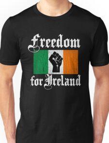Freedom for Ireland (Vintage Distressed Design) Unisex T-Shirt