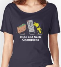 Funny! Hide and Seek Champions Women's Relaxed Fit T-Shirt