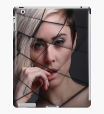 Beautiful Female Model Texture iPad Case/Skin