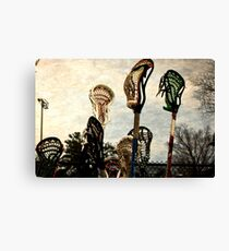 lacrosse sticks  Canvas Print