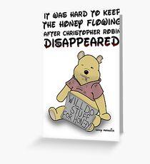 Winnie the Addict Greeting Card