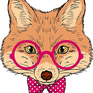 Hipster Fox Design  by juankdef