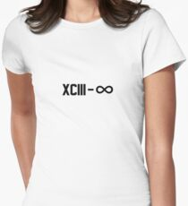 XCIII – ∞ Women's Fitted T-Shirt