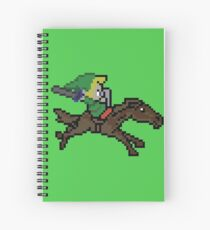 Link and Epona Spiral Notebook