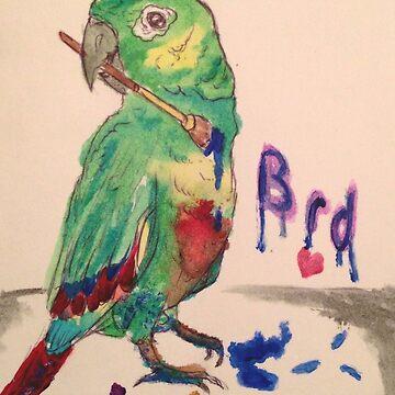 Artsy Bird by EPomegranite