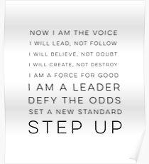 Jetzt bin ich die Stimme Poster