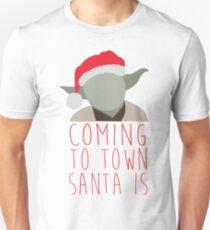 Yoda Claus Unisex T-Shirt
