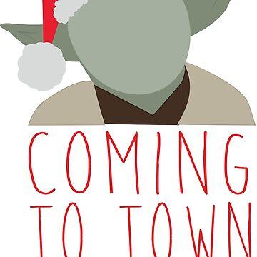 Yoda Claus by badesign