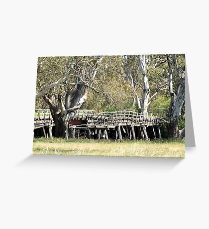 Old Bridge - out of action Greeting Card