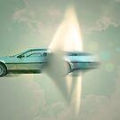 supersonic Delorean by Vin  Zzep