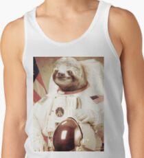 Astronaut Sloth Tank Top
