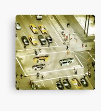 Esher intersection Canvas Print