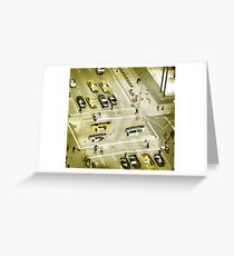 Esher intersection Greeting Card