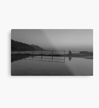 Solitary Reflection Metal Print