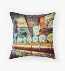 Beer Please Throw Pillow