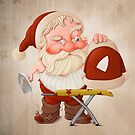 Santa Claus with flatiron by jordygraph