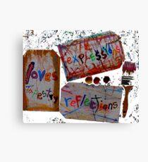 art heals Canvas Print