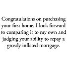 Boomer Cards - Mortgage by Tim Norton