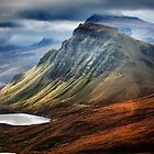 Trotternish from the Quiriang, Isle of Skye, UK by Mark Kenwood