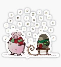 Winter fun Sticker