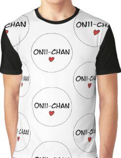 MANGA BUBBLES - ONII-CHAN Graphic T-Shirt