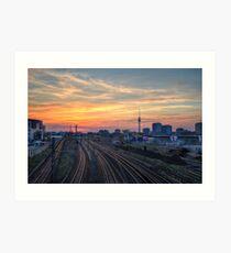 Berlin railways Art Print