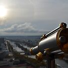 Overlooking Paris from the Eiffel tower by MichaelDarn