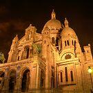 Sacré-coeur church in Paris by MichaelDarn