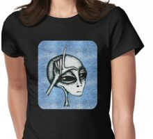 Soft Loser Alien Womens Fitted T-Shirt