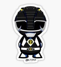 Black Power Ranger Sticker