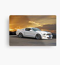 2013 Shelby Mustang GT500 Metal Print