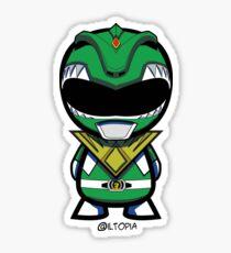Green Power Ranger Sticker
