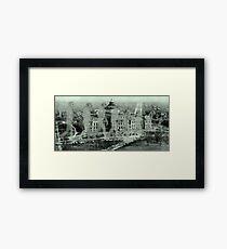 Spirit of Man Evolving. Framed Print