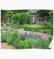 Botanic Gardens-English Walled Garden Poster