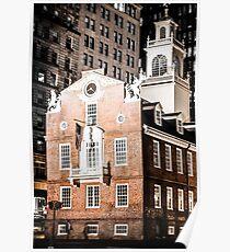 Old State House, Boston, Massachusetts Poster
