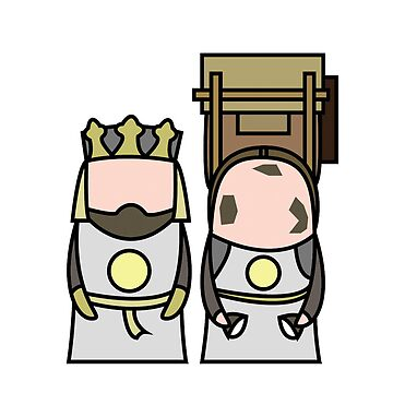 King Arthur and Patsy. by Pogonotrophist