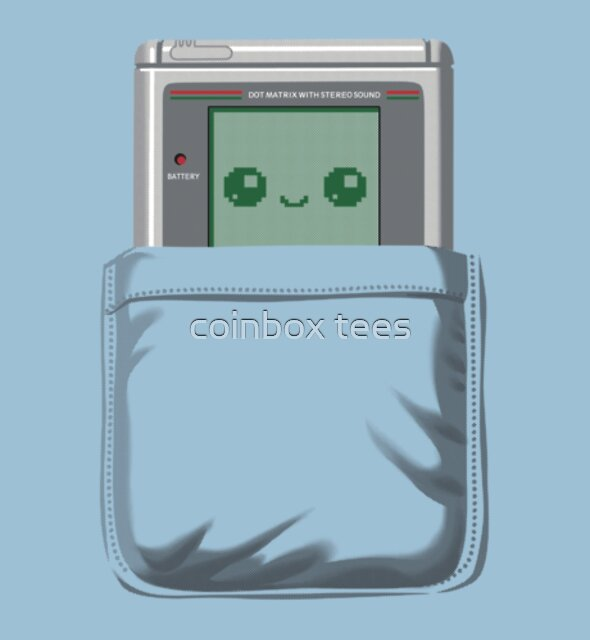 Pocket Games by coinbox tees